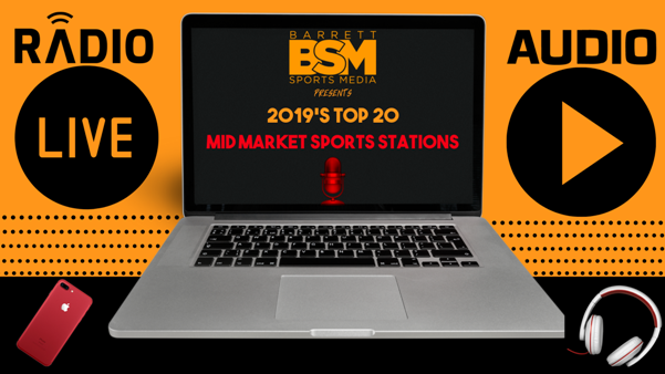 BSM's Top 20 Mid Market Sports Radio Stations of 2019