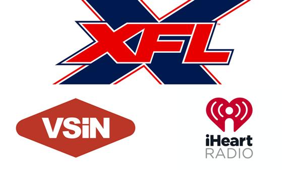 XFL, VSiN, iHeartRadio Announce Innovative Partnership