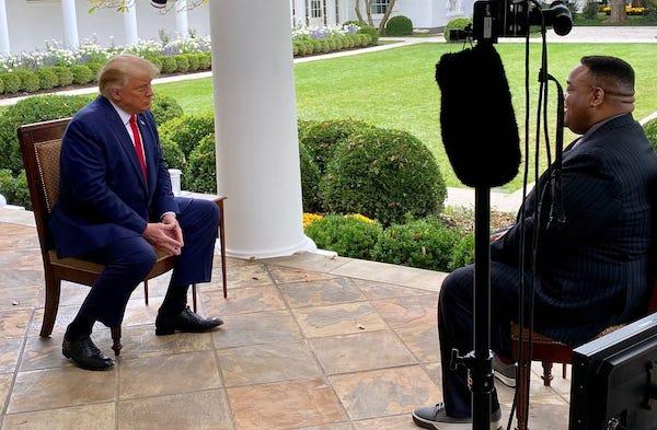 Jason Whitlock Interviews President Trump