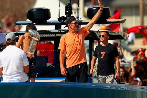 Clay Travis Calls Tom Brady Celebration Videos Cool, Relatable